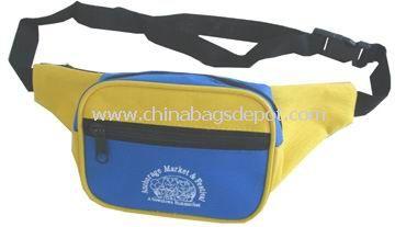 3-zipper waist bag