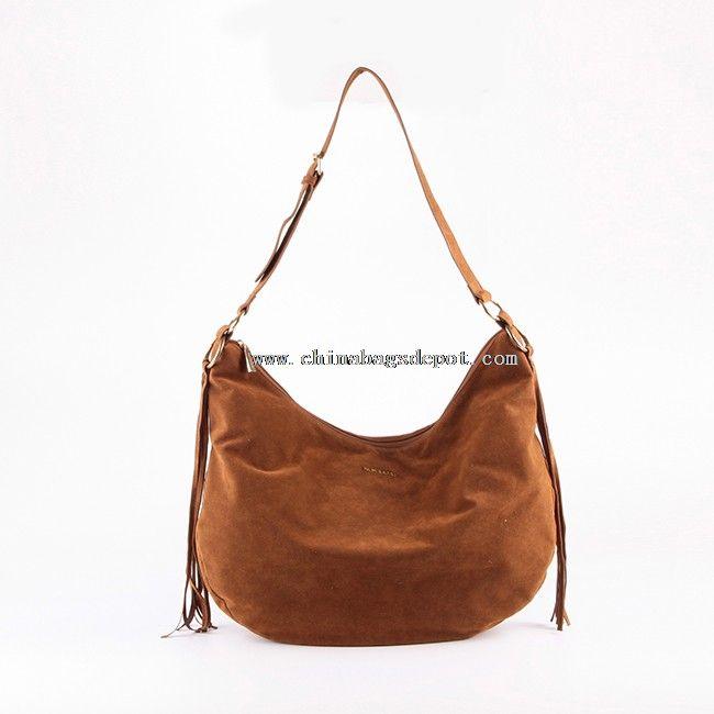 Leather cheap shoulder bag