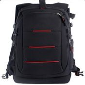Camera backpack for travel images