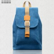 Canvas Leather Backpack images