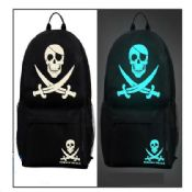 Cute Skull Comic Pattern Backpack images