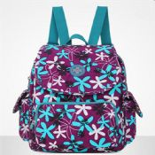 Fancy waterproof custom women backpack images