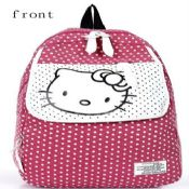 HelloKitty polyester school bag images