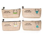 Jute pencil bags images