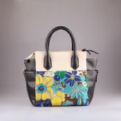 Ladies flower printing bag images