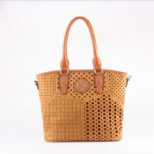 Laser PVC tote bag images