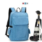Outdoor Canvas Camera Backpack For Travel images