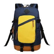 Stylish Durable Yellow Trekking Backpack Bag images