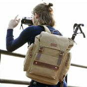 Travel Tactical Military Canvas Backpack images