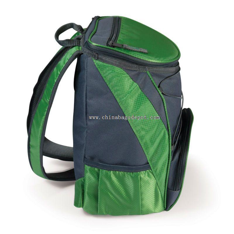 Picnic backpack cooler bag