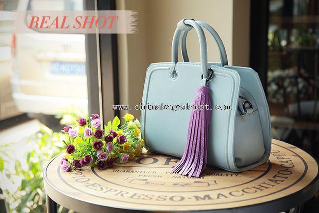 PU leather handbags ladies