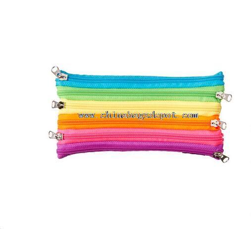 Several layers zipper pencil bag