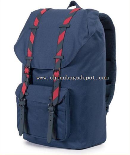 trendy canvas school bag