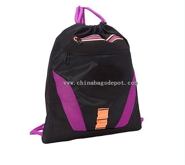 Waterproof nylon drawstring bag