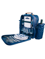 Four person picnic backpack images